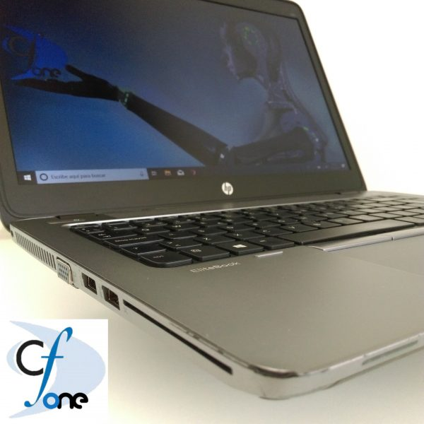 "Refurbished HP EliteBook 840 G1 14"" Laptop, Windows 10 Pro, Intel Core i5-4300U Processor, 8GB RAM, 240GB SSD Hard Drive"